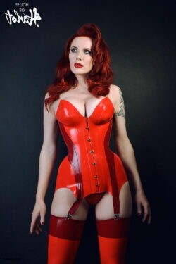 what to wear with thigh high stockings and vintage silk lingerie