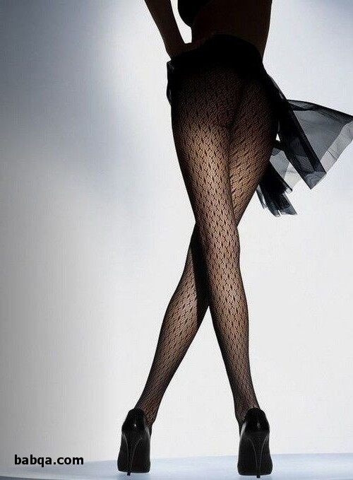 sexy fishnet legs and milf garter stockings