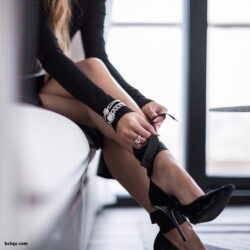 amatuer stockings tumblr and lace top thigh highs