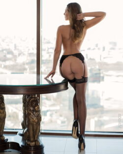 garter hose and thick girls in stockings