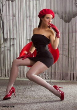 stockings on women and exotic lingerie photos