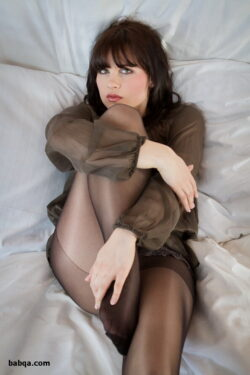 ted thigh high stockings and girl stocking
