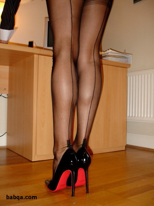 milf seamed stockings and socks and tights