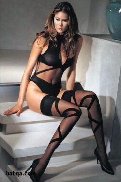 sexy older ladies in stockings and thigh high socks gallery