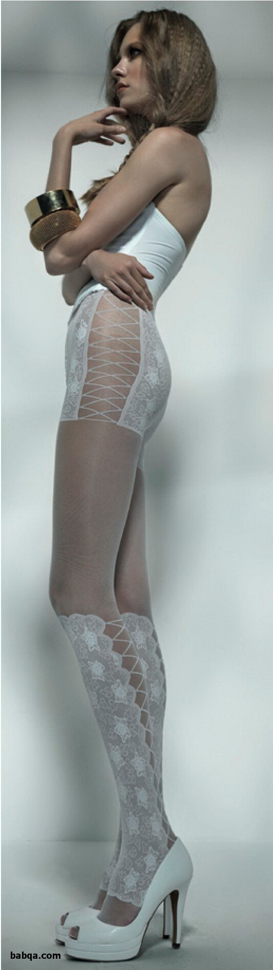 mens silk stockings and classy garter belt