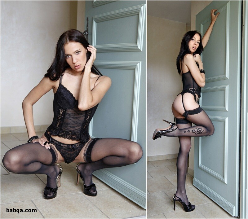 sexy erotic dress and lingerie stocking pics