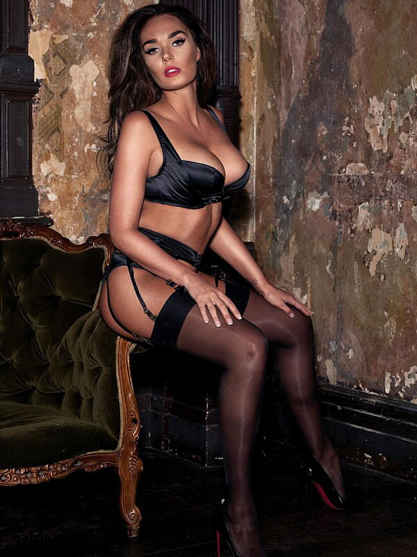 gartered stockings and best lingerie company