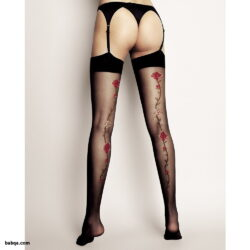 cheap thigh high stockings and leather underwear tumblr