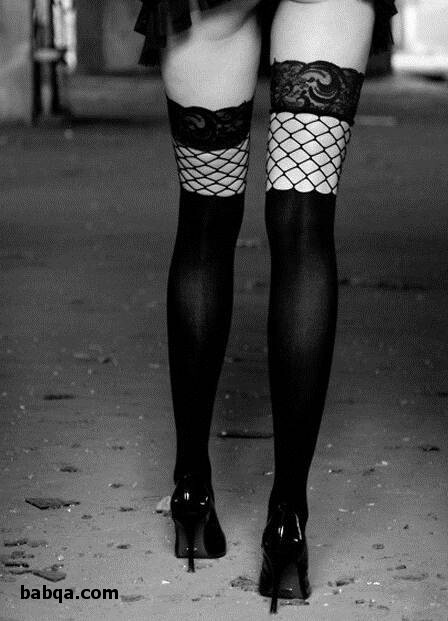 mature ass stockings and nude girls wearing stockings
