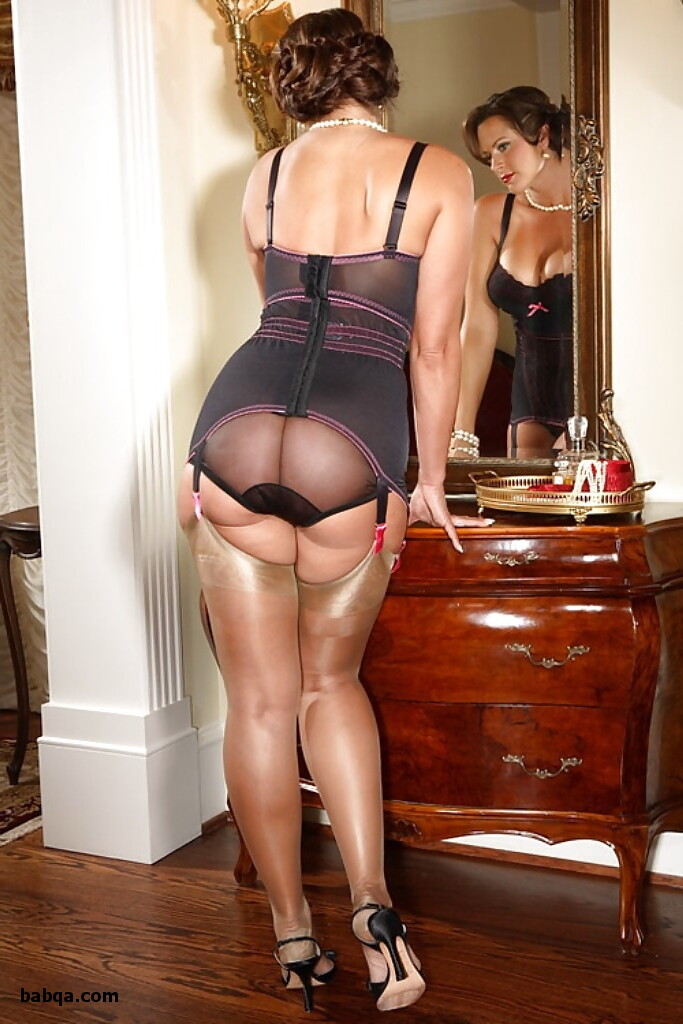 all in one stocking and garter and marine wife lingerie