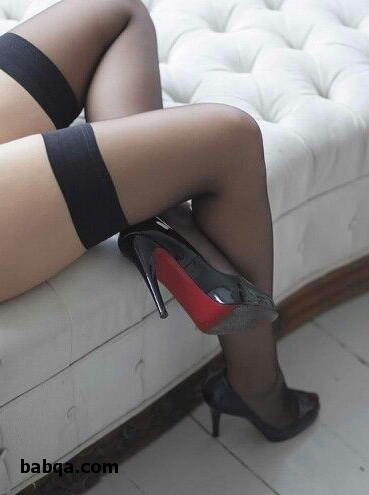 white thigh highs with bows and a pair of silk stockings moral lesson