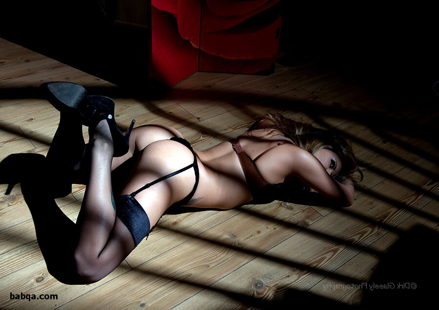 photos of women wearing stockings and white and pink lingerie