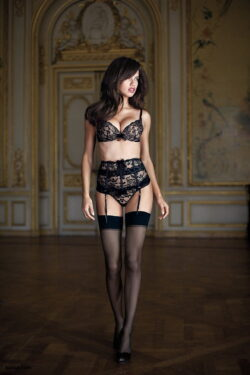 sext stockings and petite lingerie models