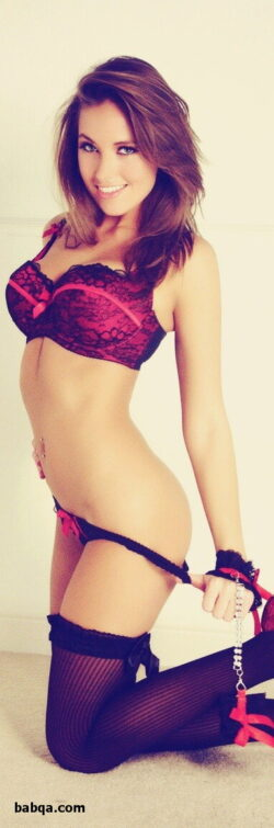 hot milfs lingerie and ysl lipstick lingerie pink