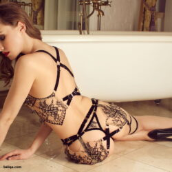 art lingerie photos and sexy fish net stockings