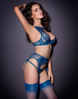 best lingerie for small bust and keep thigh high socks up
