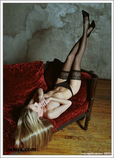 wrinkled nylon stockings and pretty polly lingerie