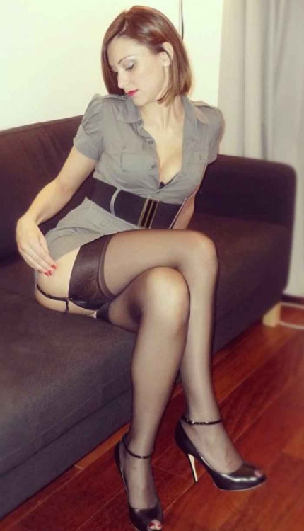 busty lingerie solo and upskirt stockings mature