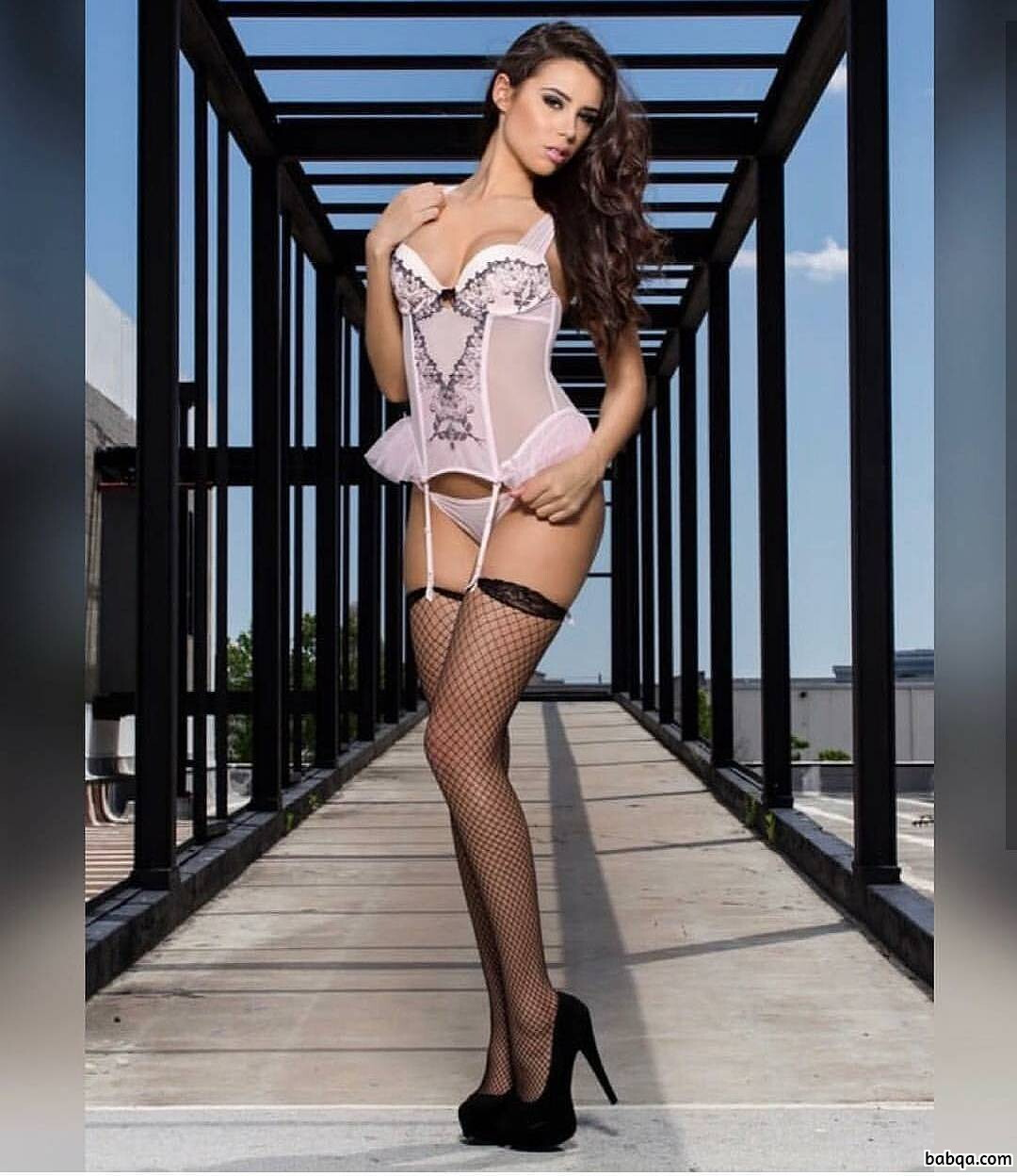 sexy teen lingerie and sexy stockings and high heels